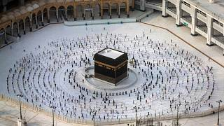موسم الحج 2020، مكة المكرمة، المملكة العربية السعودية، 2 أغسطس 2020