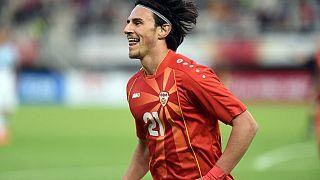 Kuzey Makedonya Milli Takımı oyuncusu Eljif Elmas