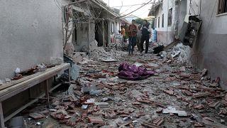 Suriye'nin Afrin kentindeki hastane saldırısı