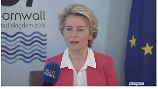 """""""La confiance est revenue au G7"""" : Ursula von der Leyen fait le point"""