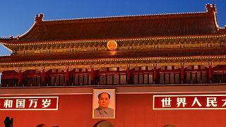 صورة لمقر الحزب الشيوعي الحاكم في الصين