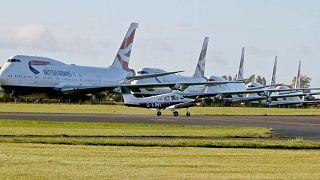 مطار كوتسوورلد في كيمبل، إنجلترا، الأحد 11 أكتوبر 2020