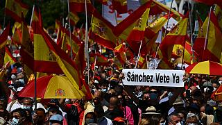 Direita espanhola contra perdão a independentistas catalães