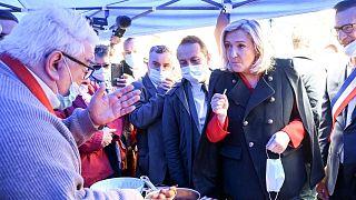 مارین لوپن، رهبر حزب راست افراطی اتحاد ملی فرانسه