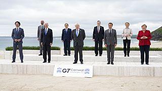 G-7 Zirvesine katılan liderler