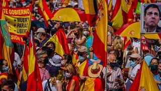 İspanya'da hükümetin 'Katalonya' kararına tepki