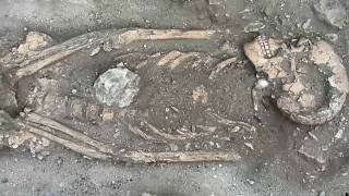 Skelettfund auf Sint Eustatius