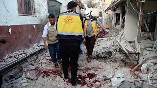 Tüzérségi támadás érte Afrín civilek lakta területét, benne egy kórházat