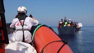 410 people rescued from Mediterranean Sea