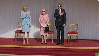 Συνάντηση Τζο Μπάιντεν – Βασίλισσας Ελισάβετ