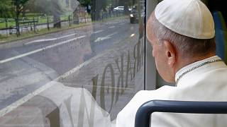 Pope Francis remembers migrants lost crossing the Mediterranean sea