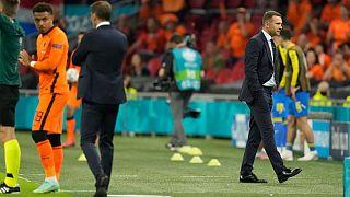 مسابقه تیم های هلند و اوکراین با برتری ۳-۲ نارنجیها به پایان رسید