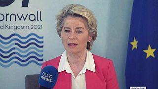اورسولا فن درلاین، رئیس کمیسیون اروپا