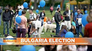Bulgarians attend political rally in Sofia