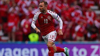 Danimarkalı orta saha oyuncusu Christian Eriksen.