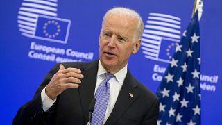 Joe Biden visited Brussels in 2015 while serving as Vice-President under Barack Obama.