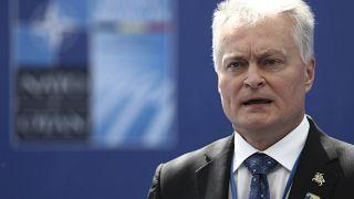 Litvanya Cumhurbaşkanı Gitanas Nauseda