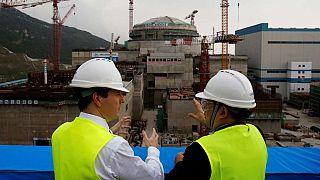 نیروگاه تایشان چین، یک سال قبل از افتتاح