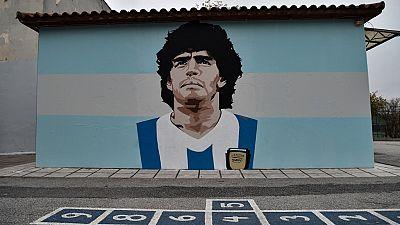 Sept soignants interrogés sur la mort de Diego Maradona
