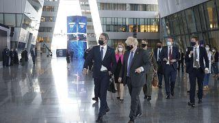 Kyriakos Mitsotakis - Boris Johnson