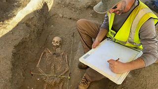 Foram encontrados mais de 50 esqueletos