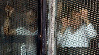 متهمان اخوانالمسلمین حکم محکومیت خود را میشنوند/قاهره ۲۰۱۸