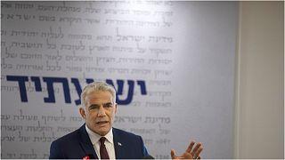 وزير الخارجية الإسرائيلي الجديد يائير لبيد