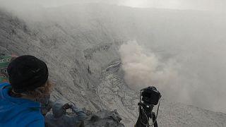 DR Congo's Nyiragongo volcano