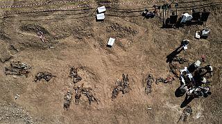 Irak'ta bulunan toplu mezar