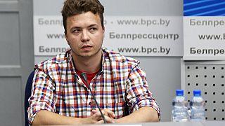 Raman Prataszevics a sajtótájékoztatón