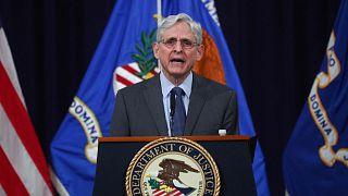 ميريك غارلاند في وزارة العدل الأمريكية، واشنطن، 11 يونيو 2021