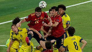 تلاش بیثمر دو تیم سوئد و اسپانیا در نهایت بدون گل به پایان رسید
