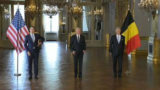US president Biden in Belgium
