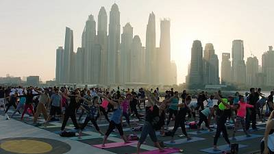 Dubai takes an active approach to fitness during the pandemic