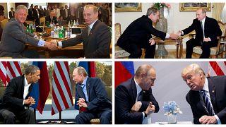 Ο Ρώσος πρόεδρος Βλαντιμίρ Πούτιν από το 2000 μέχρι σήμερα έχει συναντηθεί με πέντε αμερικανούς προέδρους