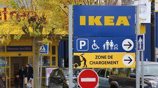 Ingresso dell'Ikea a Parigi.