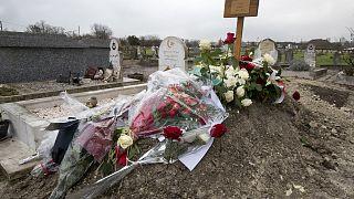 Fransa'da bir Müslüman mezarı