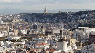 منظر عام للجزائر العاصمة، الجمعة 25 نوفمبر 2016