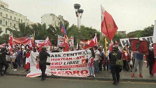 Tensão no Peru uma semana depois das presidenciais