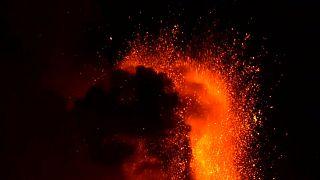 Eruzione sull'Etna