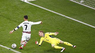 Ronaldo marcou o último golo já passavam dois minutos do tempo regulamentar