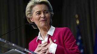 European Commission President Ursula von der Leyen