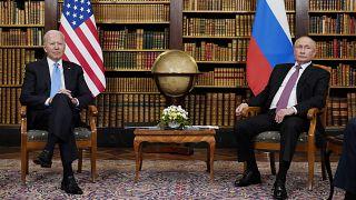 President Joe Biden meets with Russian President Vladimir Putin, Wednesday, June 16, 2021