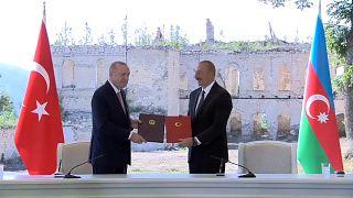Τουρκία- Αζερμπαϊτζάν: Διακήρυξη συμμαχίας