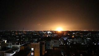 Ataque aéreo sobre Gaza