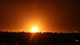 Bombardeamentos regressam à Faixa de Gaza