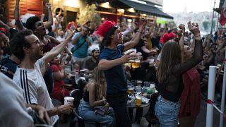 Des supporters français à Marseille