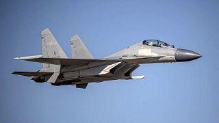 طائرة حربية صينية