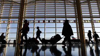 صورة من أحد المطارات الأمريكية