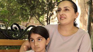 آوارگان جنگی قره باغ در ارمنستان